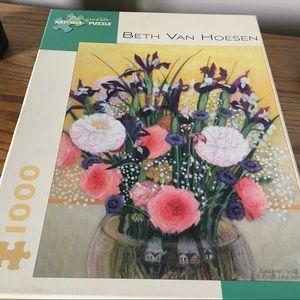 Puzzle 1000 pieces, art by Beth Van Houseman